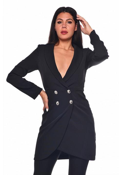 Zakó ruha fekete